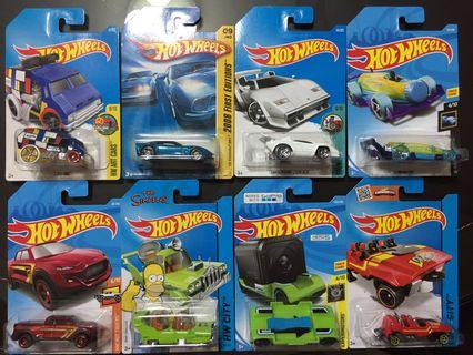 Hotwheels Lamborghini Corvette Cool One Funny Bundle Lot
