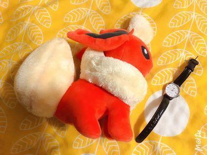 火伊布 神奇寶貝 寶可夢 Pokémon 玩偶 娃娃