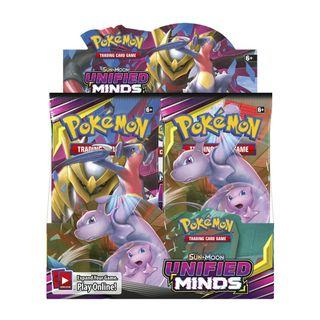 Pre Order of Pokemon Unified Minds Booster Box