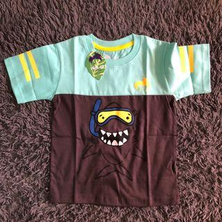 Kaos anak shark viva.co