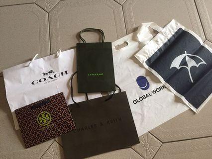 全新✨ 品牌紙袋