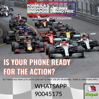 Ready for the F1 actions this weekend?