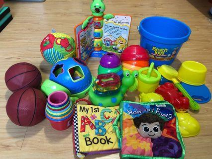 Fisher Price Baby to Toddler Toys and Books