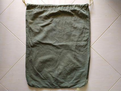 Vtg 60's 70's US Army Laundry barrack bag namwar korean war