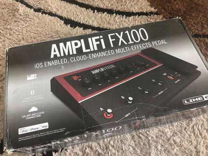Line 6 Amplifi FX100 guitar bass effect multi fxPedalboard pedal