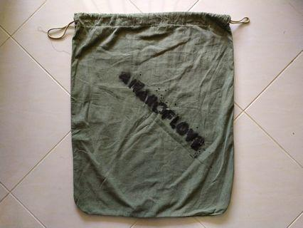 Vtg (issued) 60's 70's US Army Laundry barrack bag namwar korean war
