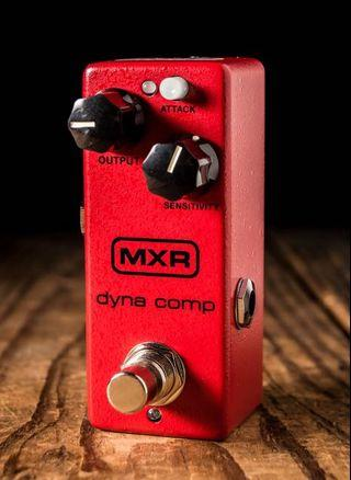MXR DYNA COMP mini Compressor and Power Supply