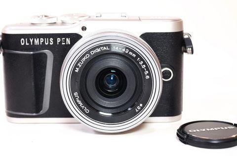 Olympus Pen E-PL9 Silver Kit 14-42mm Like New Fullset