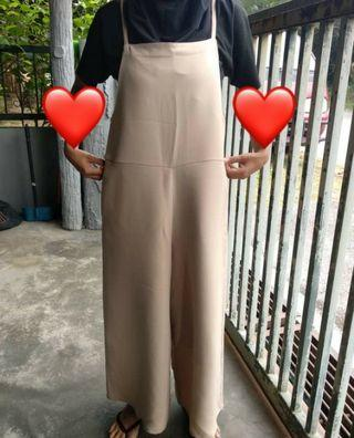 Overall Jumpsuit Pants