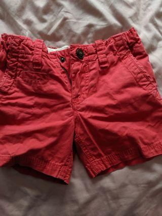 Cotton on shorts (red)