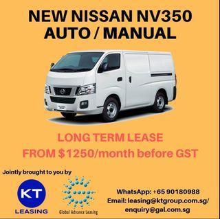 Commercial lorry van rental
