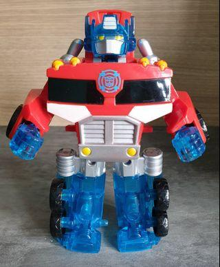 (16cm) Transformers Rescue Bots Optimus Prime