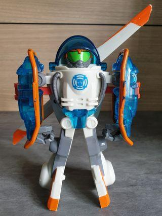 (16cm) Transformers Rescue Copter-Bot