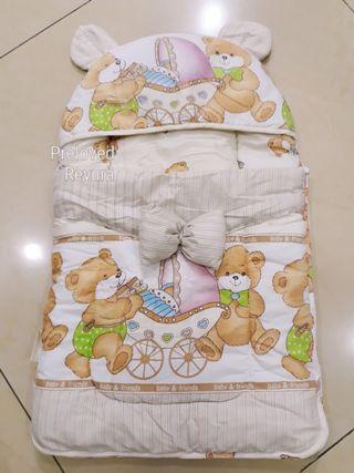 Bedong bayi selimut newborn