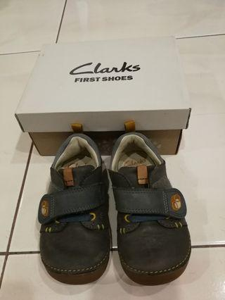 Clarks First Shoes Softly Sid Fist