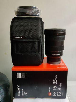 Sony GM FE 16-35mm F2.8 E-mount
