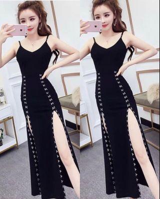 Black dress all size