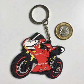 BN Ducati Panigale Rubber Keychain