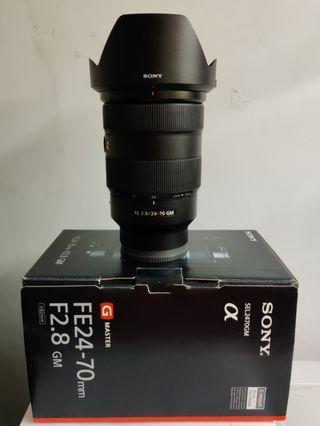 Sony GM FE 24-70mm F2.8 E-mount