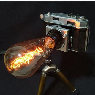 古董相機改裝~老相機夜燈