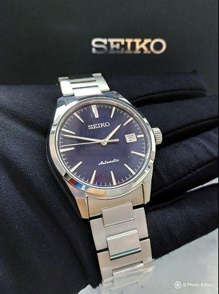 * FREE DELIVERY * Brand New 100% Authentic Seiko Presage Blue Dial Men's Automatic Dress Watch Tuxedo SARX045