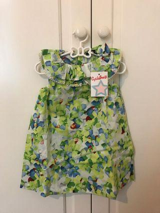Gorgeous Floral Baby Dress from Italy - NEW WITH TAG