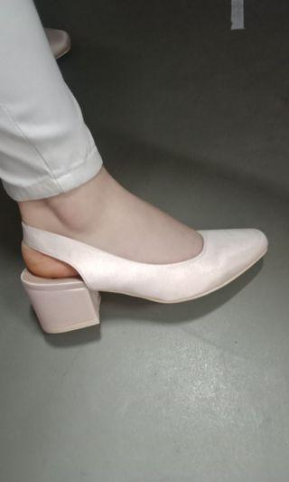 Heels little thing she need soft pink