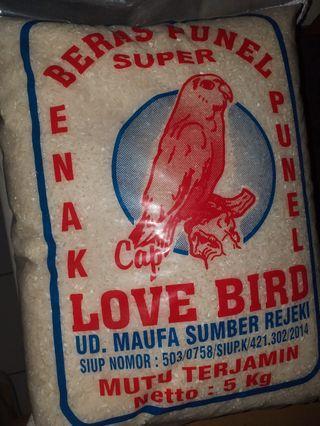 Beras Lovebird 5kg