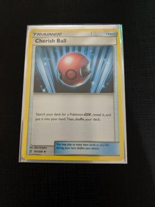 Pokemon Unified Minds Cherish Ball