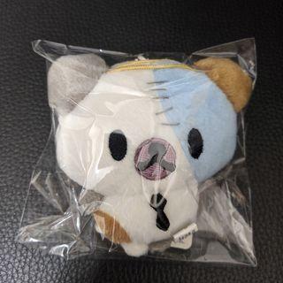 日本 歐吉胖 Ojipan 大叔熊貓 貓熊 景品 娃娃吊飾 萬聖節 殭屍 變裝