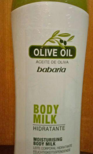 西班牙babaria橄欖花精潤膚乳液
