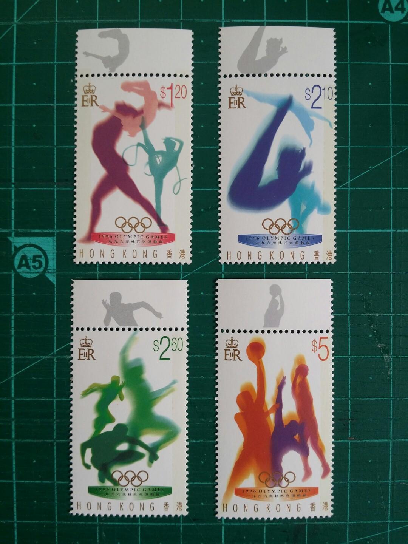 1996 阿特蘭大百週年奧運會 新票一套