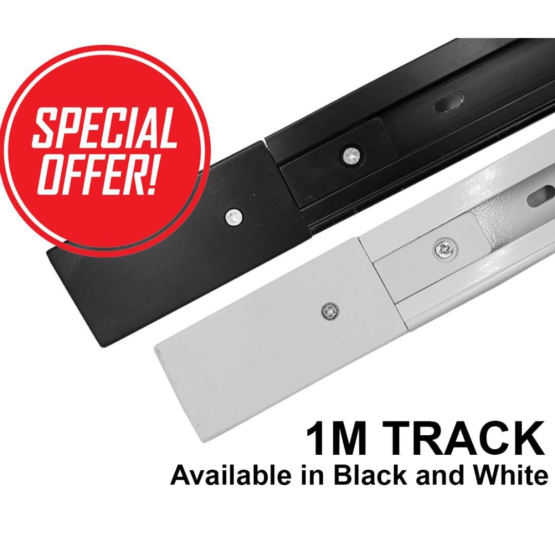 1M TRACK RAIL for LED TRACKLIGHTS