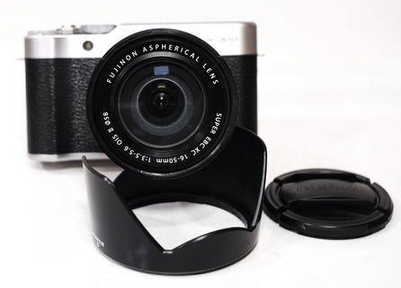 Fujifilm X-A10 Plus Lens Kit 16-50mm OIS II Silver Fullset