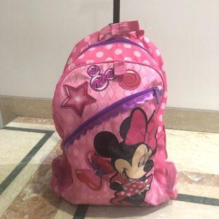 Minnie Kids Trolley Backpack / Tas Sekolah Anak