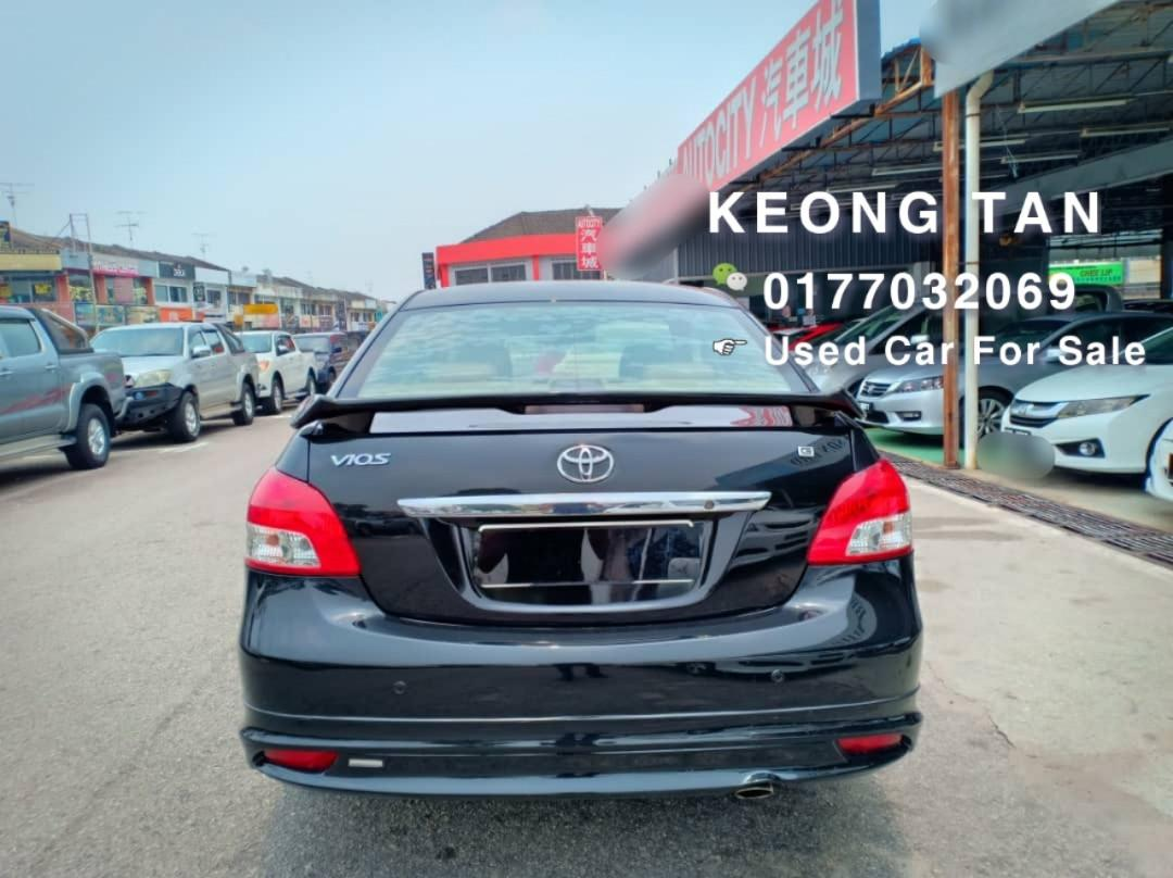 2008TH🚘TOYOTA VIOS 1.5AT G Limited Full Bodykit SPEC JohorPlate🚘Cash💰OfferPrice💲Rm28,800 Only‼ LowestPrice InJB‼Interested Call📲0177032069 KeongForMore🤗