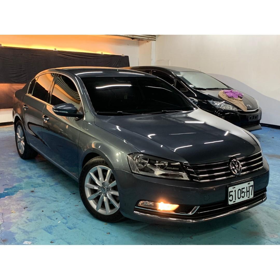 正2012年出廠總代理一手車 Volkswagen/福斯 Passat 2.0TSI 汽油頂級版