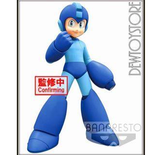 ⭐️<URGENT> [Pre-order] Bandai Banpresto Mega Man Grandista - Mega Man / Rockman ( Exclusive Lines ) ⭐️