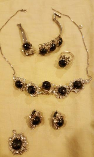 Vintage Silver Intricate Jewelry