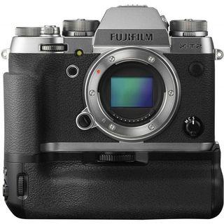 Fujifilm xt2 xt-2 graphite silver special edition with hand grip