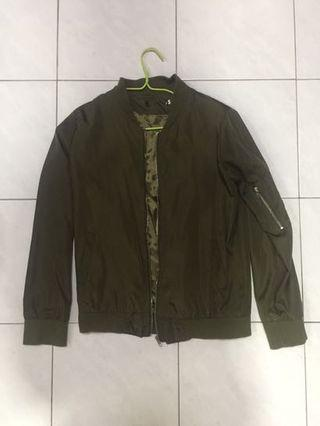 WTS Green bomber jacket