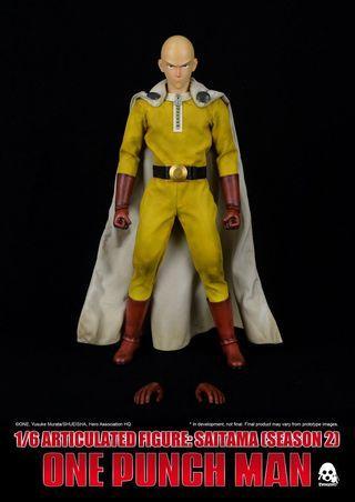 ThreeZero One Punch Man Saitama (Season 2)  Regular Version  1/6 Action Figure