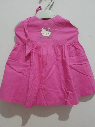 Dress tali ikat Hello kitty uk 1 th