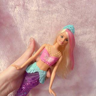 💓芭比娃娃💜新款發光淺水人魚🧜🏻♀️