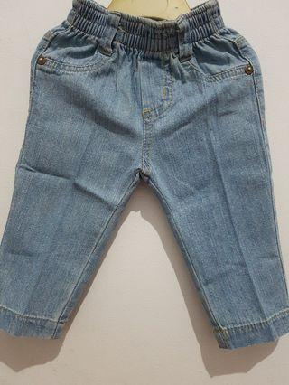 Jeans anak cool baby uk 6-9 bln