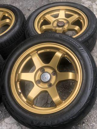 Sport Rim TE37 SL 15 inci