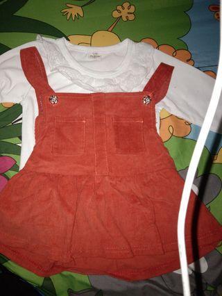 Baju anak cewe (like new)