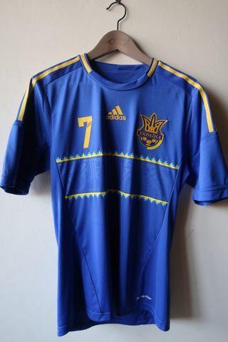 烏克蘭國家隊球衣 7號 舍夫琴科 Shevchenko jersey