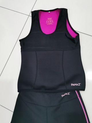 Panaz Heat Top &  Pant Set (Sweat & Slimming)