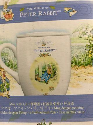 比得兔(杯連蓋馬克杯)